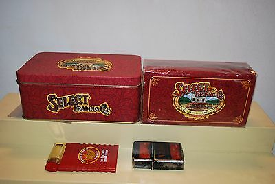 Winston Select Cigarettes 2 Lighters + 1 Box Matches & Tin Can Vintage 1990's  • 13.25£