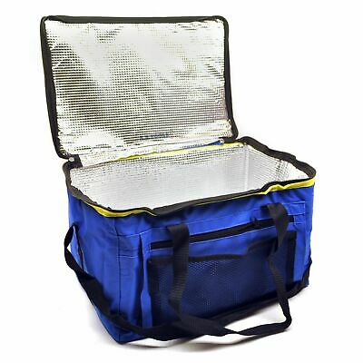 24L Cool Bag 48 Can Cooling Cooler Insulated Ice Box Camping Picnic • 7.99£