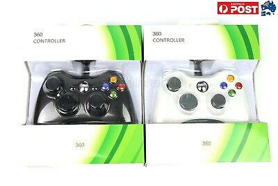 AU25.99 • Buy Hot Wired Gamepad Game Controller For Microsoft Xbox 360 Windows PC Game Console