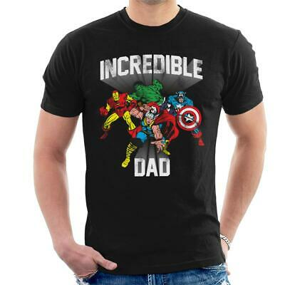 Marvel Incredible Dad MCU Heroes Men's T-Shirt • 15.95£