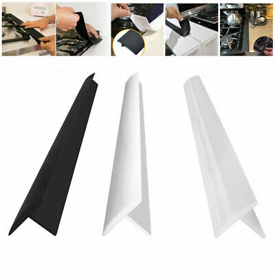 £6.99 • Buy 2pcs Silicone Stove Counter Gap Cover For Cooker Worktop Spill Guard Seal Filler