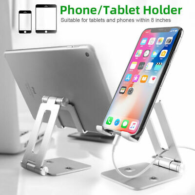 $8.61 • Buy Cell Phone Tablet Switch Stand Aluminum Desk Table Holder Cradle Dock For IPhone