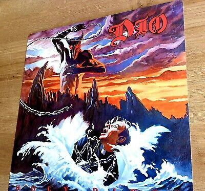Dio - Holy Diver - 12x12 Inch Metal Sign • 14.99£