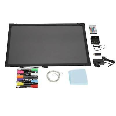 Sensory LED Light Up Drawing Writing Board Special Needs Toy Autism 60*40CM • 25.99£