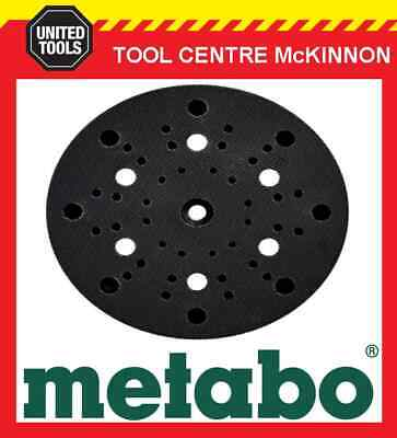 METABO SXE 450 DUO & TURBO TEC SANDER 150mm 6 HOLE REPLACEMENT BASE / PAD - SOFT • 30.44£