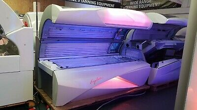 £6500 • Buy Ergoline Affinity 660 Dynamic Power Commercial Liedown Sunbed With Tanning Lamps