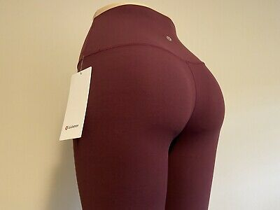 "$ CDN140 • Buy Lululemon Align HR Pant 25"" Cassis-Size: 6 NWT SAME DAY SHIPPING!"