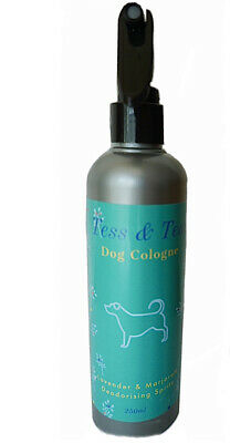 Large 250ml Dog Deodorant Spray And Cologne. Luxury Lavender & Marjoram Scent. • 7.40£