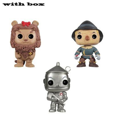 NEW The Wizard Of OZ Tin Man Scarecrow Cowardly Lion Action Collection Model Toy • 16.08£
