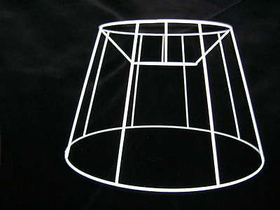 French Drum Wire Lampshade Frame  16  Base  • 11.99£