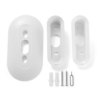AU27.33 • Buy Wall Plate With Down 10°/20°Wedge Angle Mount For Nest Hello Doorbell HS1425