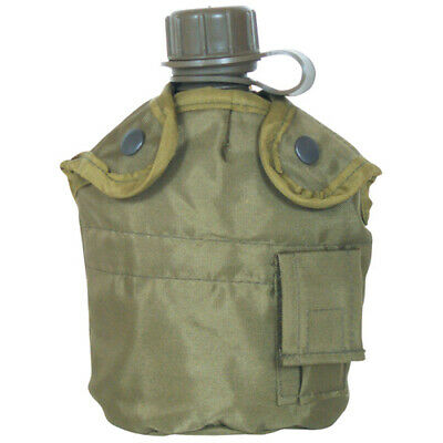 $ CDN15.67 • Buy NEW Tactical Military 1qt Canteen COVER With Alice Clips And Side Pouch OD GREEN