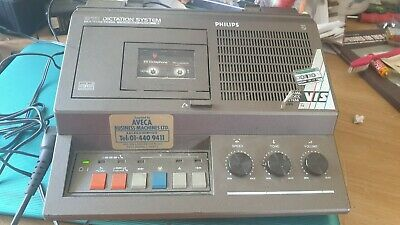 £60 • Buy Vintage Philips 815 Dictation Machine Transcriber With Lead And Remote Fwo