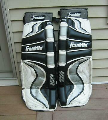 $49.95 • Buy Franklin  Gp-6200 Ice Hockey/roller Hockey Goalie Pads Leg Pads