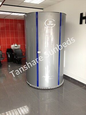 Tansun Vertical Tanning Stand Up Sunbed Changing Area ONLY • 250£