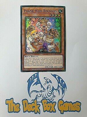 Yugioh: Prank Kids Rocksies, Sofu, Super Rare, Limited Edition • 0.99£