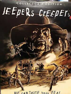 $110 • Buy Jeepers Creepers 2 (Blu-ray Disc, 2016, 2-Disc Set, Collectors Edition) Rare OOP