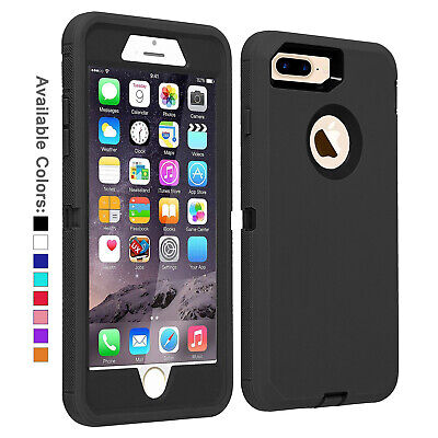 AU17.28 • Buy For Apple IPhone 7 / 8 Plus Case Screen Protector Series Fits Defender Belt Clip