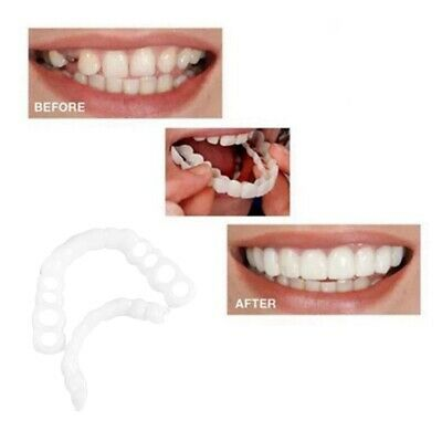 $0.99 • Buy Snap On Bottom Upper False Teeth Dental Veneers Dentures Fake Tooth