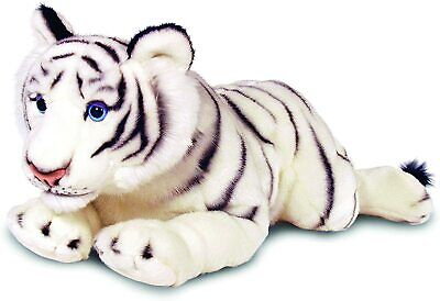 £13.49 • Buy KEEL TOYS WHITE TIGER BEAR 32cm Quality Soft Toy Signature Cuddle SW6163