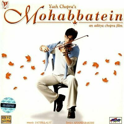 Mohabbatein - Bollywood Original Soundtrack Hindi Cd [rpg Edition] • 12.99£