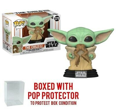 $14.99 • Buy Funko POP Star Wars The Mandalorian - Baby Yoda The Child With Frog IN STOCK!!