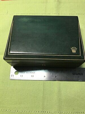 $ CDN228.82 • Buy Vintage Rolex 60's  Coffin Bevel Box For All Men's Watches