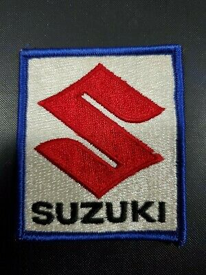 $6.99 • Buy Vintage Red White Blue Suzuki Patch Free Shipping