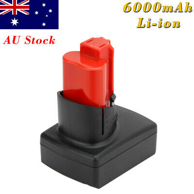 AU35.95 • Buy 12V 6.0AH Li-ion Battery For Milwaukee M12 C12B 48-11-0200 48-11-2401 48-11-2460