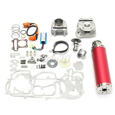 $91.99 • Buy 100cc Big Bore Power Pack Exhaust For GY6 50cc QMB139 Chinese Scooter Parts US