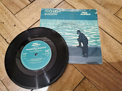 Mike Oldfield Moonlight Shadow 7  Vinyl Record Good Condition • 3.99£