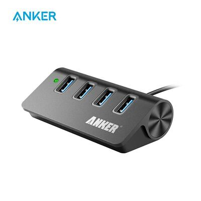 AU31.46 • Buy Anker USB 3.0 4-Port Portable Aluminum Hub With 2-Foot USB 3.0 Cable