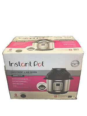 $149.99 • Buy Instant Pot Duo Crisp And Air Fryer 8 Quart 11 In 1 Serves Up To 8 People