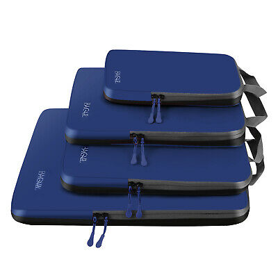 AU32.99 • Buy Bagail 4 Set Compression Packing Cubes Travel Expandable Packing Organizers