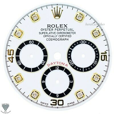 $ CDN858.94 • Buy White Rolex Dial For Rolex Daytona 16520 ,16523, 16528 For Caliber 4030 Zenith