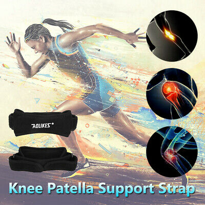 1/2x Adjustable Patella Tendon Strap Knee Support Jumper Runner Pain Band Brace • 5.98£