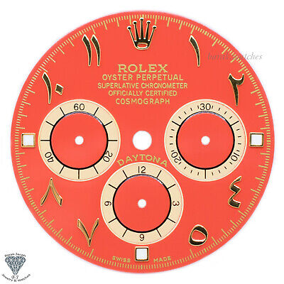 $ CDN867.72 • Buy Custom Rolex Dial For Rolex Daytona 16520, 16523, 16528 Arabic Number