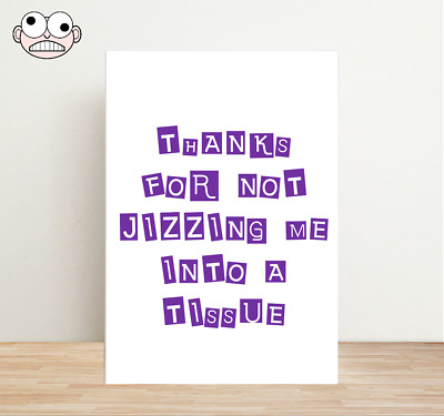 £2.35 • Buy Rude Fathers Day Card - Naughty Cards Offensive Funny Cheeky A6 Adult #003