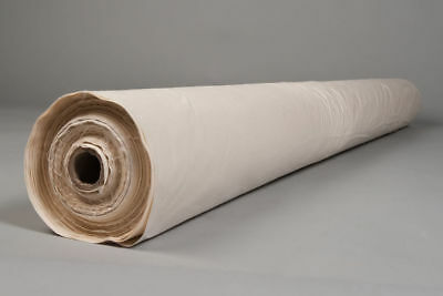 £6.99 • Buy Anti Dust 100% Cream Cambric Cotton - 60  Width Feather Proof Fabric Any Length