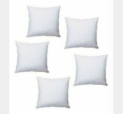 4 X Hollowfibre Cushion Pads Inner Inserts Scatters Small & Large 12 - 36   • 7.49£
