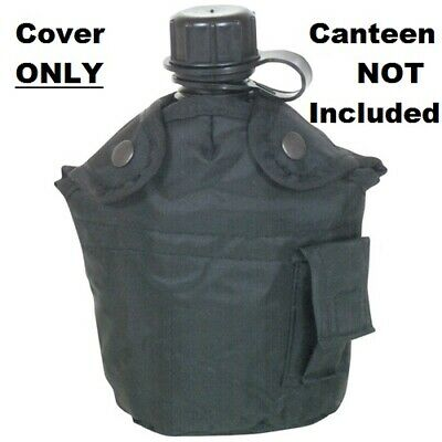 $ CDN16.39 • Buy NEW Tactical Military 1qt Canteen COVER With Alice Clips And Side Pouch BLACK