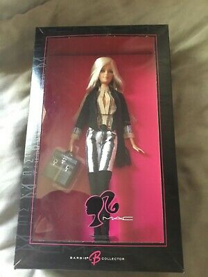 $250 • Buy Barbie Collector M.A.C. Cosmetics Barbie Doll 2006 With Authenticity Paper