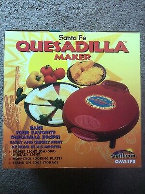 $49.99 • Buy Brand New In Box Santa Fe Quesadilla Maker