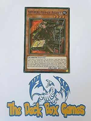 Yugioh: Spyral Super Agent, Cyho, Super Rare, Limited Edition • 0.99£