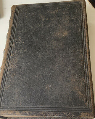 ANTIQUE HOLY BIBLE TO BE READ IN CHURCHES EYRE SPOTTISWOODE LARGE 2.6kgs • 49.99£