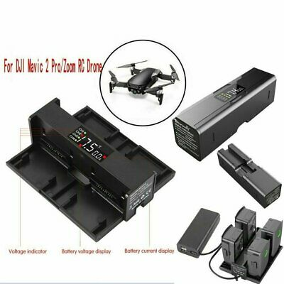 AU28.99 • Buy Durable Drone Accessories Smart LED Battery Charger For DJI Mavic 2 Pro Zoom