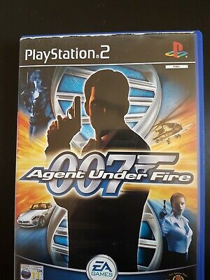 JAMES BOND 007, AGENT UNDER FIRE, PS2 Game. • 4£