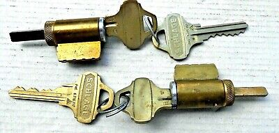$20 • Buy  2 Schlage Everest Lever Cylinders With C123 Keyway Keys