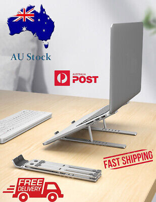 AU29.95 • Buy Laptop Stand NEW Laptop Desk Holder Portable Aluminium Foldable Mel/AU Stock