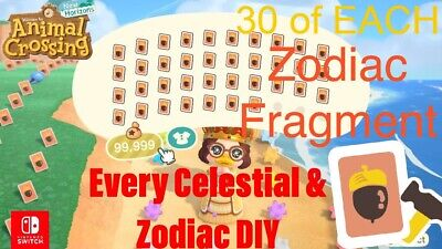 $10.12 • Buy ACNH | Celeste/Zodiac ULTIMATE PACK & All Star Fragments 👑🔥FAST DELIVERY🔥